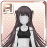 Side-Dango Hairstyle Black