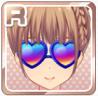 Colorful Heart Sunglasses Blue