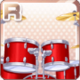 Drum Kit Red