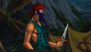 Thief knifer