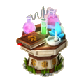 Alchemists table deco