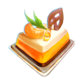Tangerine pie