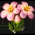 Silk flower pink