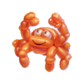 Balloon crab spectacular