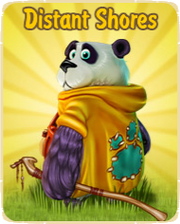 Distant shores update logo