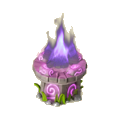 Magic fire deco
