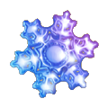 Coll winter snowflake