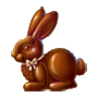 Coll happyeaster chocolate bunny