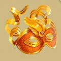 Coll royal masquerade mask