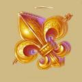 Coll musketeer fleur-de-lis