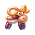 Balloon lamb spectacular