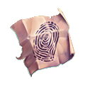 Coll detectives finger prints