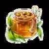 Barrel of eucalyptus jam