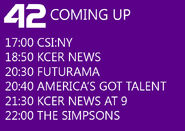 KCER Coming Up Next in 2013