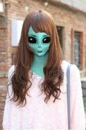 Audrey-the-alien