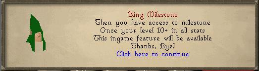 King Milestone 2