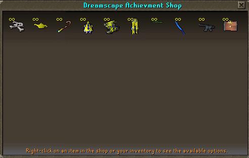 Achievement Point Shop