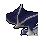 Blue Death Cape