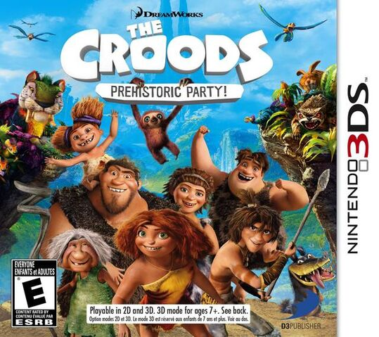 File:The Croods Prehistoric Party for Nintendo 3DS.jpg