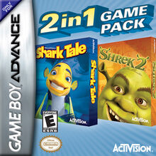 Shrek 2 & Shark Tale Double Pak for Nintendo Gameboy Advance