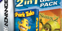 2 In 1 Games: Shrek 2 & Shark Tale