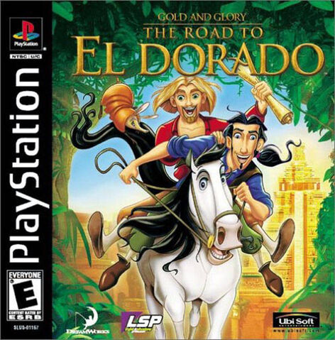 File:Road To El Dorado for Sony PlayStation One.jpg