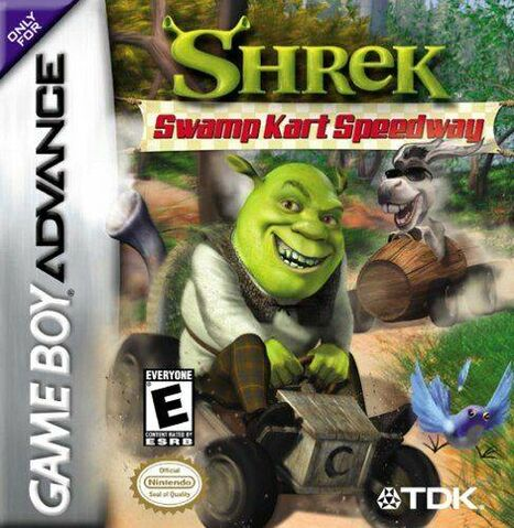 File:Shrek Swamp Kart Speedway for Nintendo Gameboy Advance.jpeg