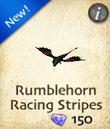 Rumblehorn Racing Stripes