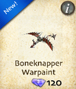 Boneknapper Warpaint