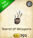 Barrel of Weapons
