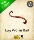 Lug Worm Bait