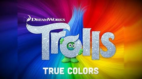 Justin Timberlake + Anna Kendrick - True Colors -Trolls OST- -Lyric Video-