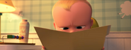 Boss Baby reading