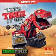 Ty's Let's Trux It Up poster