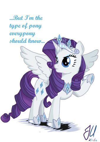 File:Annoyed princess rarity by teammagix-d5ugd4z.jpg