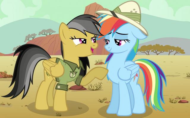 File:Rainbow Dash meet daring do.png
