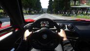 DRIVECLUB Alfa Romeo cockpit view