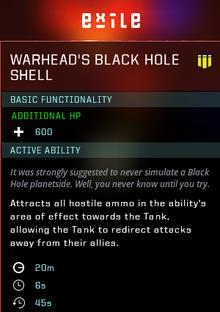Black hold gear