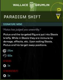 Plutus signature move gearbox