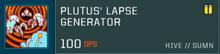 Plutus weapon slot