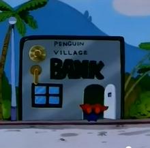 Penguin village bank anime