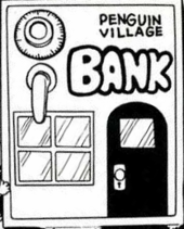 Penguin village bank