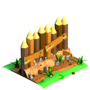 03 Wooden Palisade Earth
