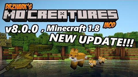 NEW MINECRAFT MO' CREATURES 1.8 (v8.0.0) UPDATE Ghost Wyverns, Baby Foxes, and More!!!