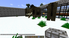 Songhua river mammoths