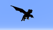 Winged panther