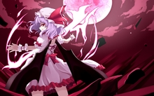 File:Touhou wings dress night moon purple hair short hair hats remilia scarlet anime girls vampire 150 www.wallpaperhi.com 8.jpg