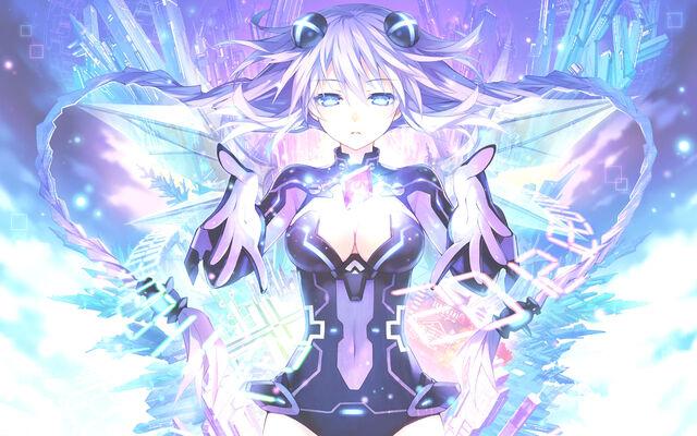 File:Konachan-com-170898-blue eyes-bodysuit-braids-cleavage-hyperdimension neptunia-kami jigen game neptune v-long hair-purple hair-p.jpg