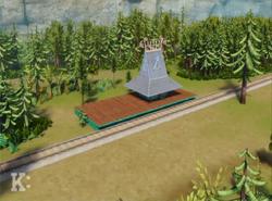 Wannanosaurus Woodland Station