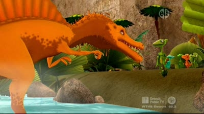 The Old Spinosaurus And The Sea Dinosaur Train Wiki
